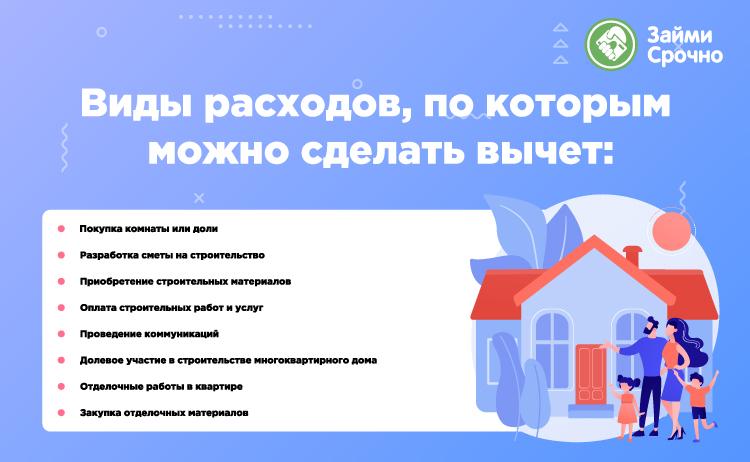 Налоговый вычет за покупку квартиры и ипотеку
