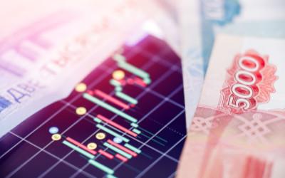 Российский рубль стал одним из самых волатильных в мире