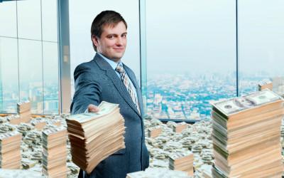 Наибольшая вероятность разбогатеть присутствует в сфере финансов